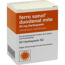 FERRO SANOL duo mite 50mg Hartk.m.msr.üb.Pell. 50St Hartkapseln mit magensaftres