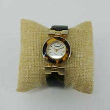 Capezio Women's Wristwatch Plastic Faux Tortoise Shell