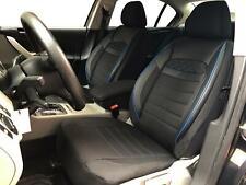 Sitzbezüge Schonbezüge für Opel Zafira schwarz-blau V2324805 Vordersitze