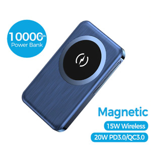 Wireless Magnetic iPhone 12 Power Bank Charging 10000mAh Magsafe Mini Ultra Thin