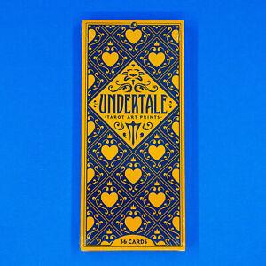 """Undertale 36 Tarot Card Deck Art Prints 3.2"""" x 7.3"""" Official Sans Flowey Toriel"""