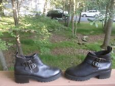 Skechers women leather boots size 8