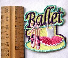 1$ Girl Scout Guide BALLET FUN PATCH Dancing Dance Troop Concert Sport Badge NEW