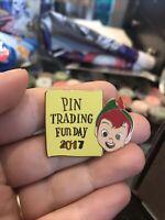 SDR Shanghai Pin Trading Fun Day 2017 Peter Pan Disney Pin 127580