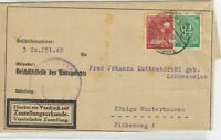 German Postal History Stamps Cover Ref: R4693