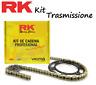 RK Kit Catena 530 Corona 34 Pignone 17 Per Honda CB K Four 500 (CB500) 72 - 74