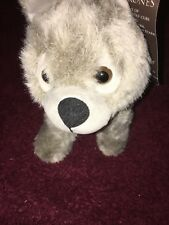 Game Of thrones  Grey Wind  direwolf  pup soft toy