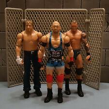 """WWF WWE Wrestling RANDY ORTON, RYBACK & AMBROSE 6"""" action figure toy set"""