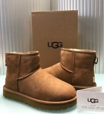 2018 UGG Australia Women's Classic Mini II Boots Chestnut 1016222 size 8
