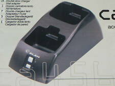 Carica batterie da tavolo due posti CA456-2S per  Alan 451R - 456R - 516 - 530