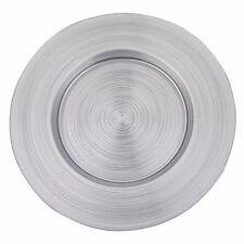 Badash - Arianna Charger Plate, Silver (D102)