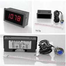 Car Digital LED Tachometer RPM10-9999RPM Speedometer W/NPN Hall Proximity Sensor
