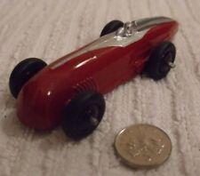 DINKY VINTAGE DIECAST MODEL (RARE) ** RACING CAR - MAROON & SILVER ** CAT No 23a