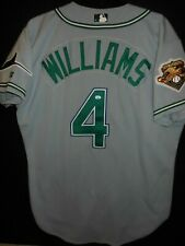Gerald Williams Game Used Jersey w/100 Seasons Patch -Tampa Bay Rays -Very Rare!