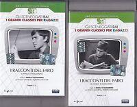 2 Dvd Sceneggiati Rai I RACCONTI DEL FARO con F. Giachetti completo nuovo 1967
