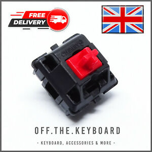 Cherry MX Red Gaming Key Switch Linear Switch Mechanical Replacement Tester Lot