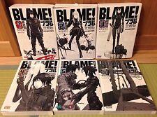Used BLAME! Renewal Edition 1- 6 Manga Complete Set Tsutomu Nihei Japanese comic