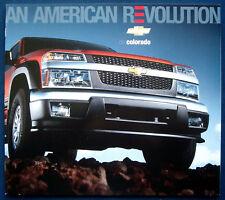 Prospekt brochure 2005 Chevrolet Colorado (Estados Unidos)
