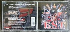 E.S.T.  – Live In The Outskirts Of Moscow CD (Mausoleum, 1993) Hard Rock