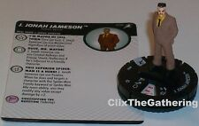 J JONAH JAMESON 006 Superior Foes Of Spider-Man Marvel HeroClix