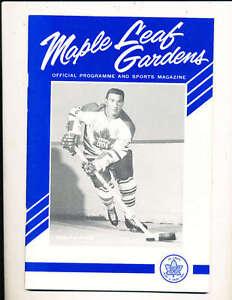 4/25 1964 Championship program Toronto Maple leaf vs Detroit Redwings hockey pro