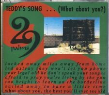 29 PALMS - teddy's song  3 trk MAXI CD 1991