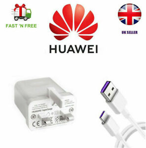 5A Genuine Huawei P30 Pro P20 P10 Mate 20 10 Fast Type C USB CABLE & CHARGER