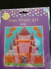 Foam Mosaic Art Castle