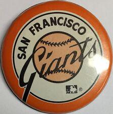 Vintage San Francisco Giants California SF Baseball 1 3/4 Inch Pin Pinback MLB