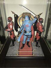 Sideshow Exclusive Cobra Commander Statue Diorama