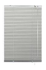 Gardinia Aluminium-jalousie 25 Mm Silber 90 X 130 Cm