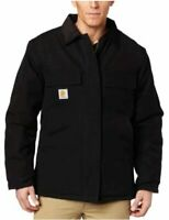 Carhartt Men's Arctic Quilt Lined Duck Traditional Coat, Black, Size Large SYDV