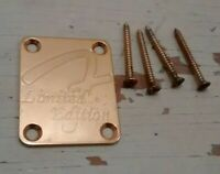 Fender Buck Owens Limited Edition Gold Telecaster Tele Stratocaster Neck Plate