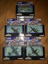 Corgi Fighter Scramble lot of 5 different planes