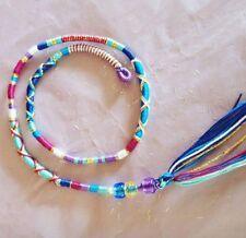 hair wrap, braid, pink, purple, 31/35cm clip plait in, holiday festival gift
