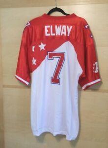 JOHN ELWAY Denver Broncos Mitchell & Ness NFL Pro Bowl Jersey SIZE 54 NEW!