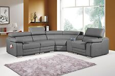 Leather CornerSectional Grey Sofas eBay