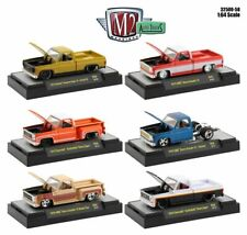 M2 MACHINES 2020 CHEVY CHEVROLET GMC SQUARE BODY TRUCK SET of 6 MIP -NEW!