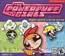 Video Game PC Powerpuff Girls Mojo Jojo's clone zone NEW Jewel READ !!