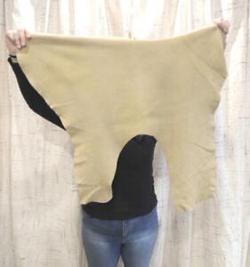 BRAINTAN Deerskin Leather Hide for Native Crafts Buckskin Taxidermy Antler Mount