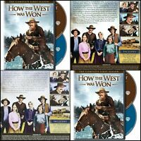 How the West Was Won: Season 1 American West Complete First Season DVD Various