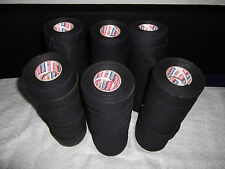 """BLACK ATHLETIC TAPE  125  rolls  1.5""""x10yds.   * FIRST QUALITY *"""