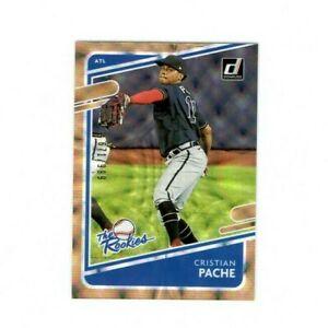 2021 Donruss The Rookies - Cristian Pache #TR4 /999 - Atlanta Braves