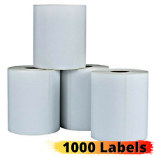 Direct Thermal Paper Shipping Labels 4x6 Zebra Eltron Printer Price Code 4 Rolls