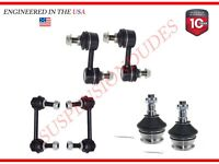 6PC Front/Rear Sway Bar Links Ball Joint for Subaru Forester 03-08 Impreza 04-07