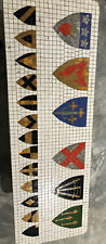 Mosaic Coat Of Arms Coffee Table Tile Some Copper  Game Of Thrones Inspired