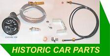 Double pression d'huile jauge de température d'eau & kit conviendra à de nombreux 1950-70s voitures classiques