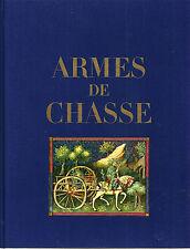 """DUC DE BRISSAC """"ARMES DE CHASSE (HUNTING WEAPONS)"""" 1967 1ST COLOR PLATES -RARE!"""
