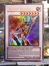 Yu Gi Oh Carta Mostro Synchron Arciere Rottame DP09-IT016 Ultra Rara Italiana IT