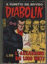 DIABOLIK prima serie N.24  L' ASSASSINO DAI 1.000 VOLTI  originale 1964 1a I